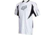 Fox Tech MTB Short Sleeve Jersey Men white
